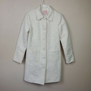 Old Navy Trench Coat Long Buttoned Jacket